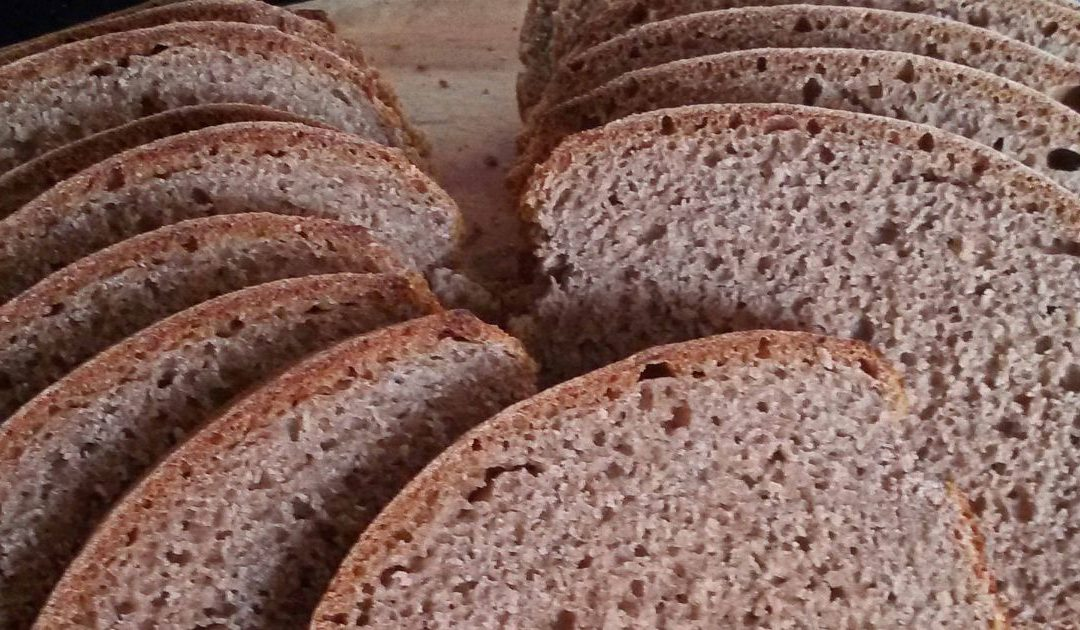 Zuurdesembrood van spelt