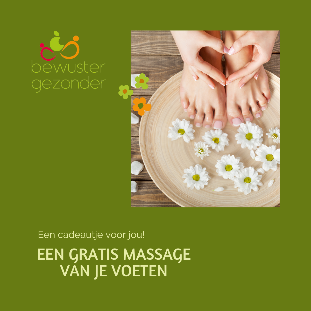 Cadeaubon Massage Voeten